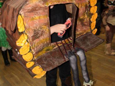 Fašiangový karneval ZŠ