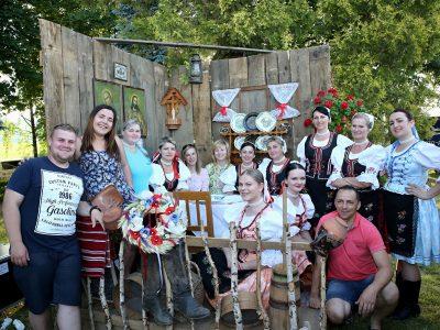 Stretnutie rodákov aV. ročník folklórnych slávnosti vHankovciach