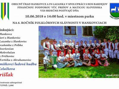 Pozvánka na folklórne slávnosti