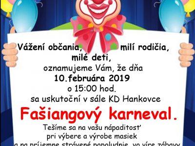 Karneval sa blíži!!!